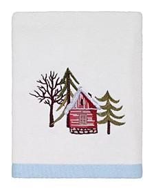 Christmas Village Hand Towel