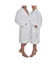 Azure Unisex Collection Terry Cloth Bathrobe