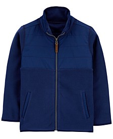 Big Boy Zip-Up Fleece Jacket