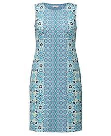 Mixed-Print Sleeveless Dress, Created for Macy's