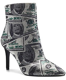 INC Women's Ingra Bling Booties, Created for Macy's