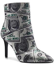 INC Women's Ingra Bling Booties, Created for Macy's
