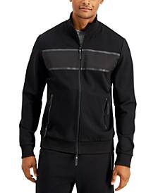 Men's Premium Stealth Track Jacket, Created for Macy's