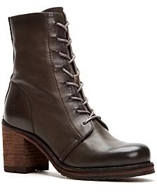 Karen Lug Sole Combat Boots
