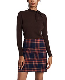 Blair Tie-Neck Sweater, Created for Macy's