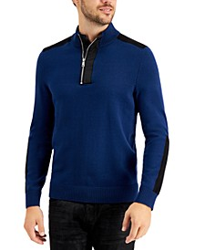 INC Men's Lock Half-Zip Sweater, Created for Macy's