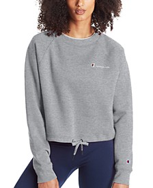Women's Campus Cropped Fleece Sweatshirt