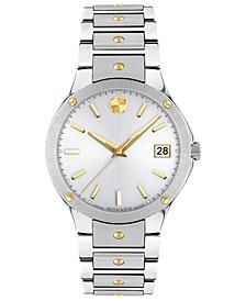 Women's Swiss Sports Edition Gold PVD & Stainless Steel Bracelet Watch 32mm