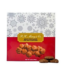 Milk Chocolate Pecan Caramel Clusters Box