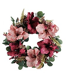 Martha Stewart Blush Eucalyptus Wreath, Created for Macys