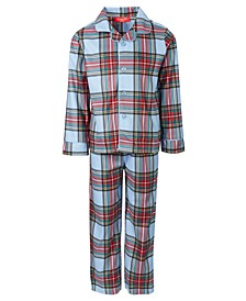 Matching Kids Tartan Family Pajama Set, Created for Macy's