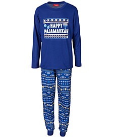 Matching Kids Hanukkah Family Pajama Set, Created for Macy's