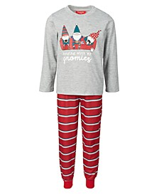 Matching Kids Gnomies Family Pajama Set, Created for Macy's