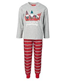 Matching Kids Gnomies Family Pajama Set, Created for Macy's