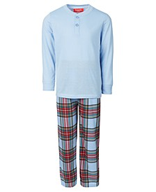 Matching Kids Mix It Tartan Family Pajama Set, Created for Macy's