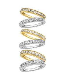 Certified Diamond Pave Band 1/4 - 1 ct. t.w. in 14k White or Yellow Gold