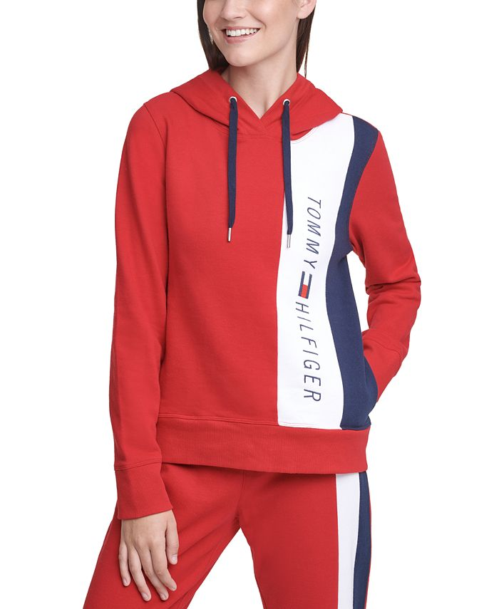 Tommy Hilfiger - Colorblocked Graphic Hoodie