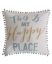 """Olyria Home Sweet Home Pillow, 18"""" x 18"""""""