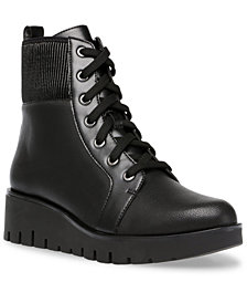 Anne Klein Derry Lug Sole Booties