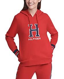 Varsity Letter Hooded Sweatshirt
