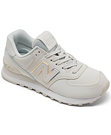 Women's 574 Iridescent Casual Sneakers from Finish Line