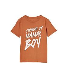 Little Boys Max Skater Short Sleeve T-Shirt