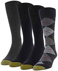 Men's 4-Pack Argyle Special Socks