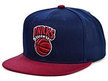 New York Knicks 2 Tone Classic Snapback Cap