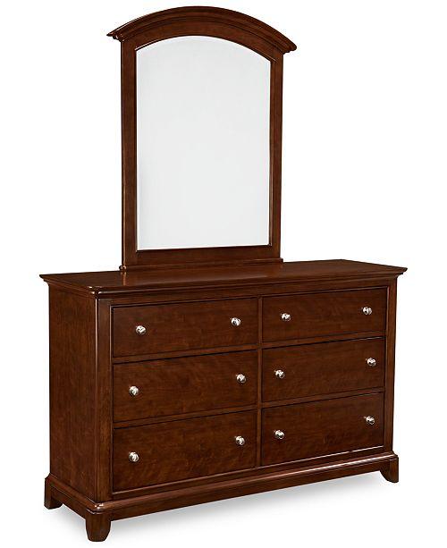 Furniture Irvine Kids Bedroom Furniture, 6 Drawer Dresser ...