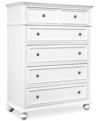 Roseville Kids Bedroom Furniture, 5 Drawer Chest