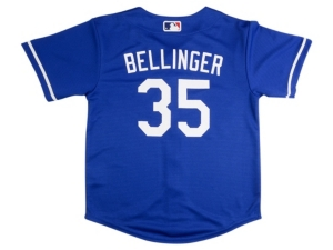 Nike Youth Los Angeles Dodgers Cody Bellinger Official Player Jersey
