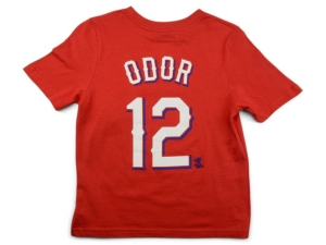 Nike Texas Rangers Rougned Odor Little Boys Name and Number Player T-Shirt