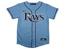 Youth Tampa Bay Rays Official Blank Jersey