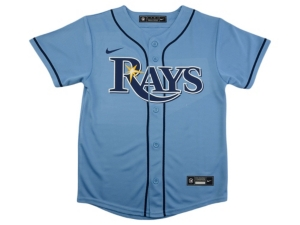 Nike Youth Tampa Bay Rays Official Blank Jersey