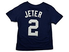 New York Yankees Derek Jeter Toddler Name and Number Player T-Shirt