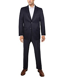 Men's Classic-Fit Navy Solid Suit