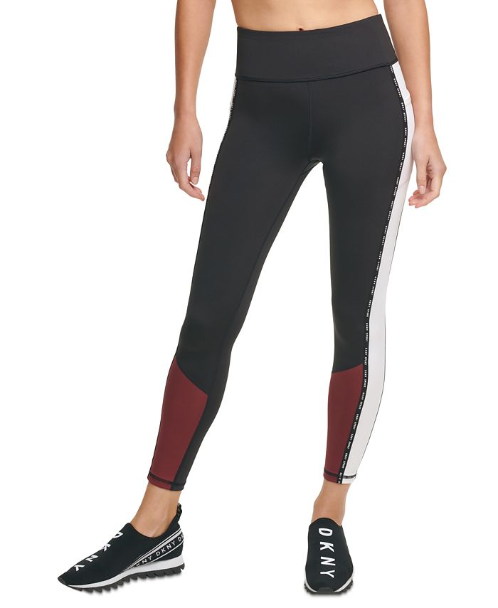 DKNY - Colorblocked High-Waist Leggings