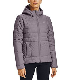 Women's Insulated Hooded Coat