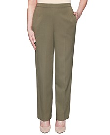Petite Colorado Springs Solid Twill Pants