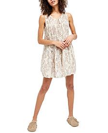 Free People Sundown Nightie Mini Dress