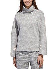 Women's Essential Funnel-Neck Sweatshirt