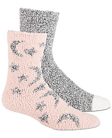 Women's 2-Pk. Stars Super Soft Cozy Socks, Created for Macy's
