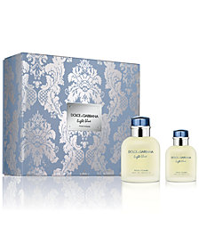 DOLCE&GABBANA Men's 2-Pc. Light Blue Pour Homme Eau de Toilette Gift Set