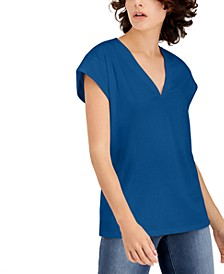 INC V-Neck Top, Created for Macy's