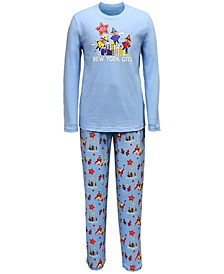 Matching Men's Macy's Thanksgiving Day Parade Family Pajama Set, Created for Macy's