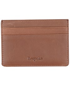 Men's Brown Leather Card Case