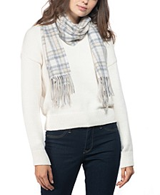 Cashmere Plaid Scarf, Created for Macy's