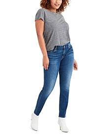 Ankle Skinny with Rips Jeans