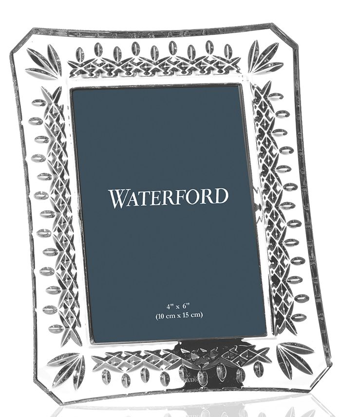 """Waterford - """"Lismore"""" Picture Frame, 4x6"""""""