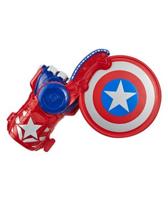 Closeout! Nerf Power Moves Marvel Avengers Captain America Shield Sling Kids Roleplay